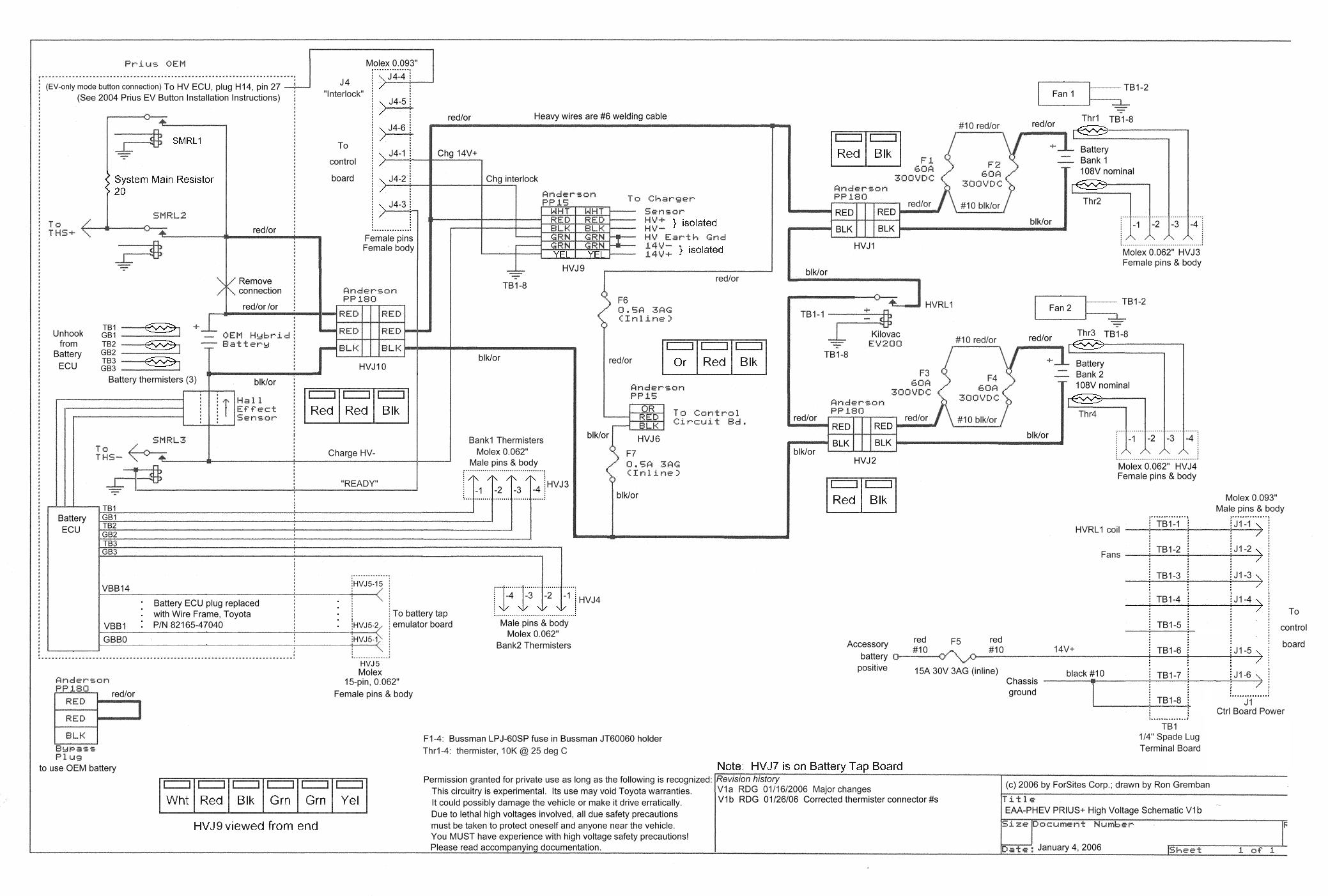 Template Priusplus High Power Schematic
